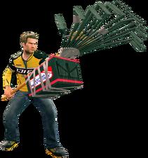 Dead rising electric rake holding