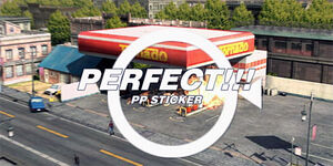 Dead rising perfect photo of gas station