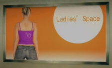 Ladies' Space Poster (back)