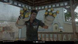 Party Gloves Worn