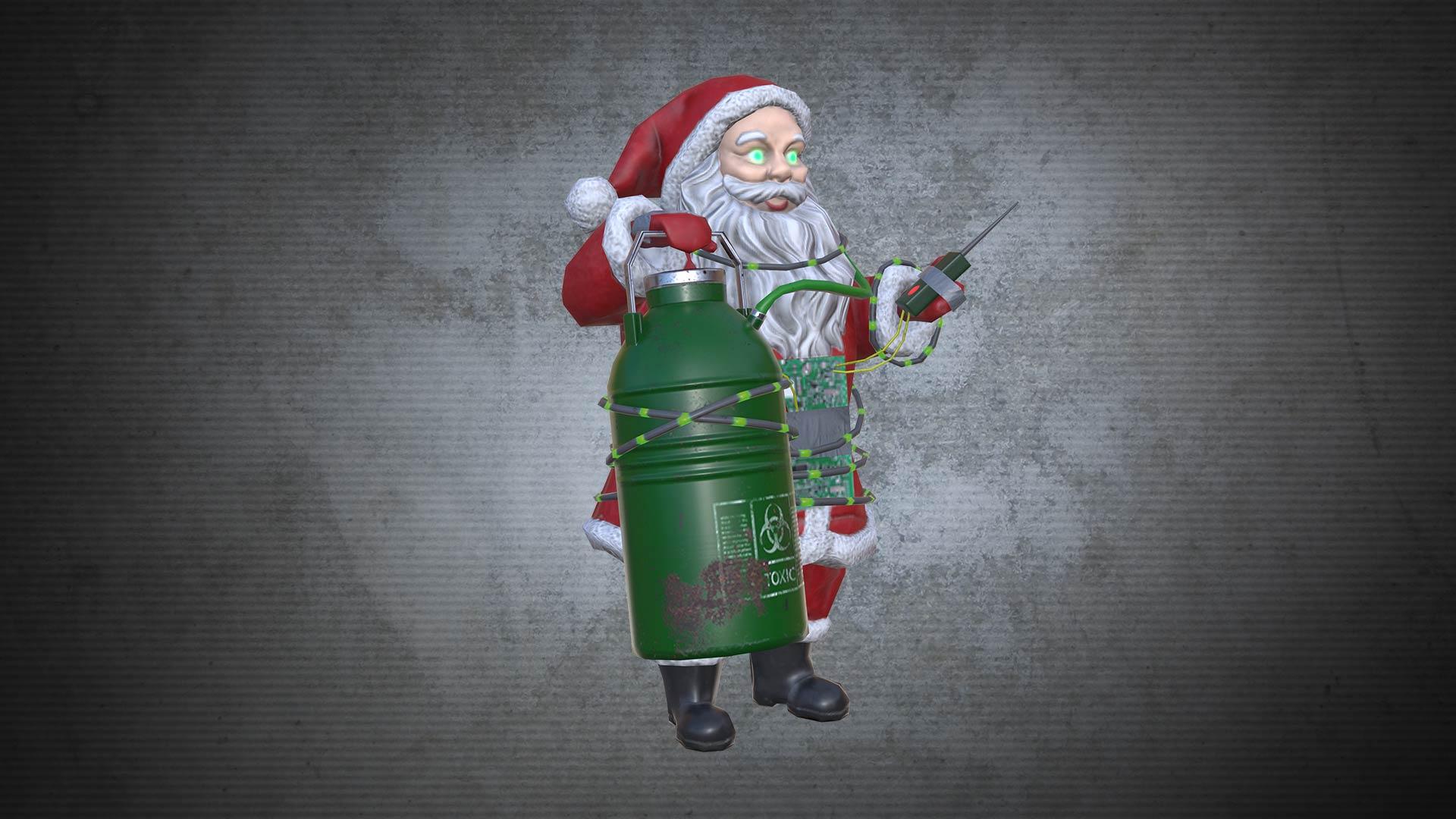 Acid Trap Santa