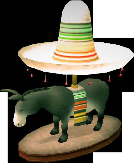 Donkey Lamp