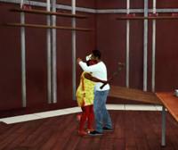 Gordon and LaShawndra PP Hug