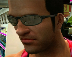 Dead rising clothing Grey Rimless Wire-Frame Glasses