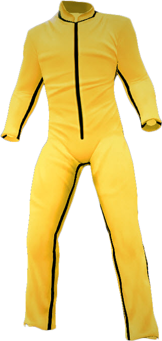 Yellow Track Suit