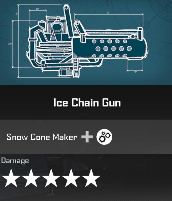 Ice Chain Gun
