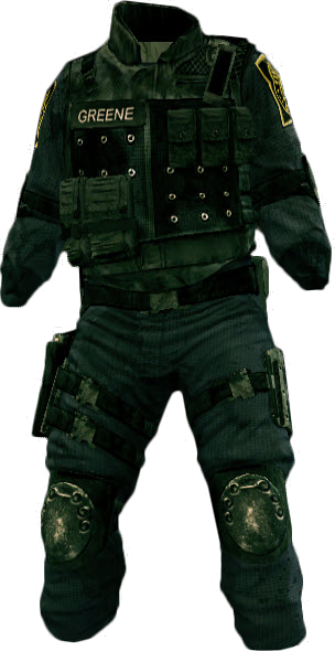 SWAT Outfit (Dead Rising 2)