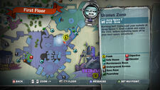Dead rising alien mask location map