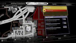 Cleuroux Collection Blueprint Map