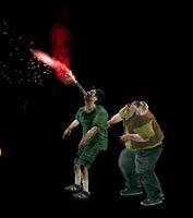Dead rising flare in zombie (2)