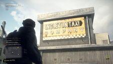 Taxi Company Sign