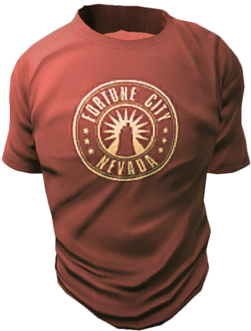Fortune City Red Shirt