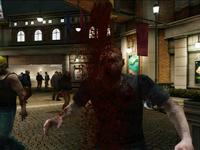 Dead rising zombies shower head al fresca plaza