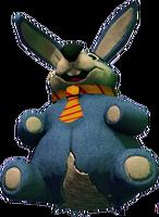 Dead rising Giant Stuffed Rabbit damaged