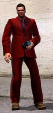 Dead rising downloadable clothing Burgundy Wine outfit