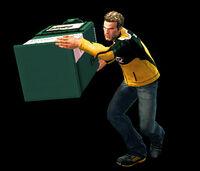 Dead rising newspaper box combo 1-2