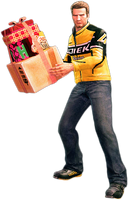 Dead rising shopping boxes holding