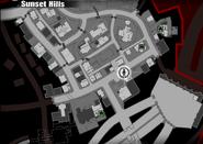 Rojo Diablo on map