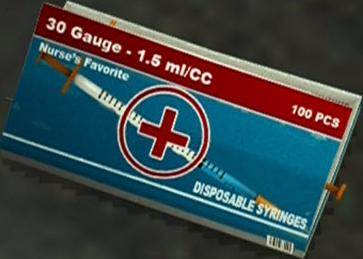 Box of Syringes