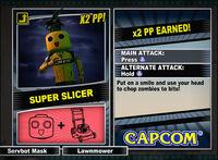 Dead rising 2 combo card Super Slicer