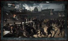 Dead rising 3 zombies fill streets