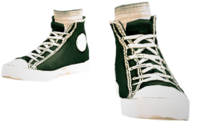 Dead rising Black Canvas Sneakers.png