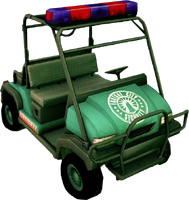 Dead rising Security Cart