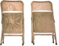Dead rising folding chairs damaged and undamaged 2