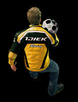 Dead rising soccer ball throwing