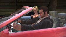 Frank and Cheryl in car