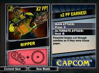 Dead rising 2 combo card Ripper