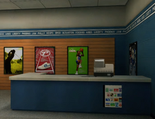 Shooting Star Sporting Goods Counter