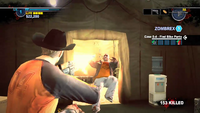 Dead rising 2 case 0 assault rifle in tent