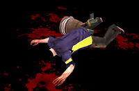 Dead rising drill bucket zombie decapitated