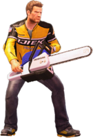 Dead rising chainsaw holding