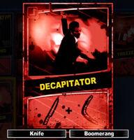 Dead rising decapitator scratch card
