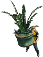 Dead rising large planter holding