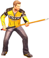Dead rising pool cue holding