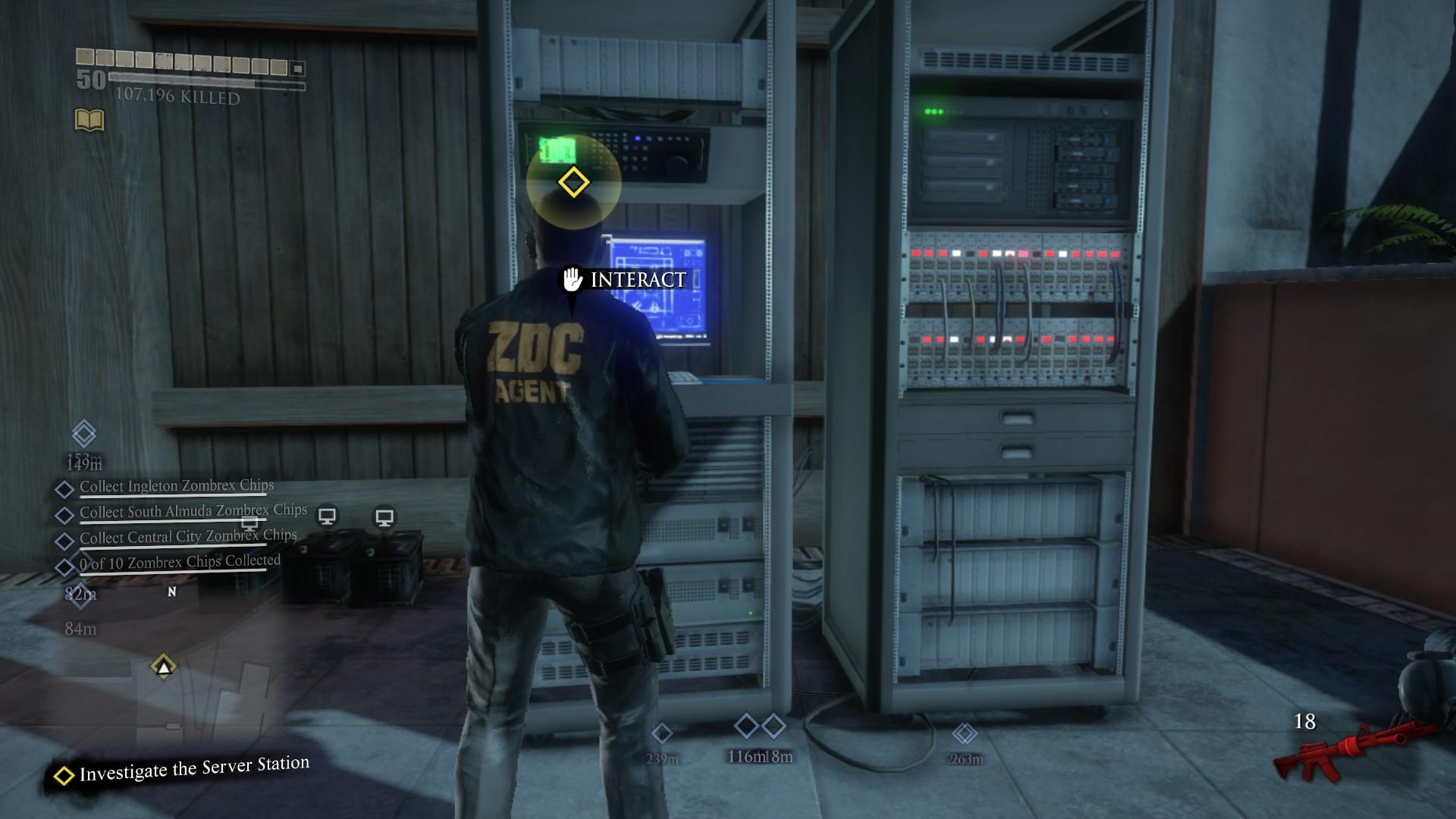 Investigate the Server Station