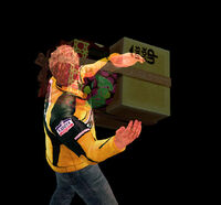 Dead rising shopping boxes throwing