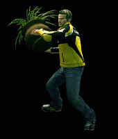 Dead rising round potted plant (6)