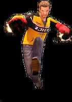 Dead rising flaming gloves jump