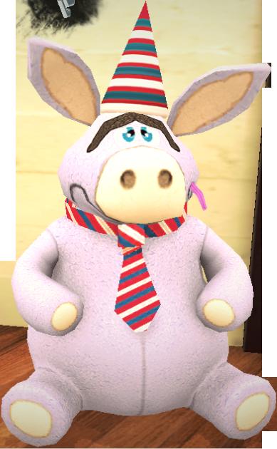 Giant Stuffed Donkey