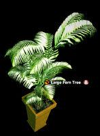 Dead rising PottedPlant 6 Large Fern Tree