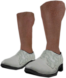 Dead rising White Dress Shoes