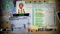 Dead Rising brittany notebook