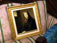Dead rising ned's painting old woman