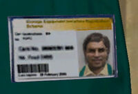 Dead rising grocers name badge wth hair