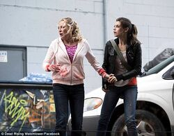 Maggie and Crystal