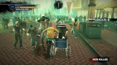 Dead Rising 2 All Combine Bike Modifications Gameplay Part 3 (Wheelchair) HD